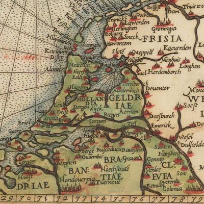Landkaarten Van Beesel Belfeld En Swalmen Voor 1600