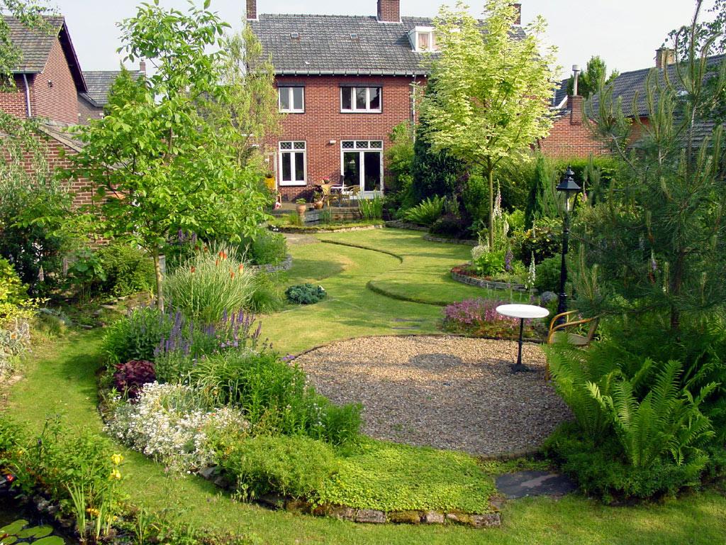 Onze tuin - Foto droge tuin ...